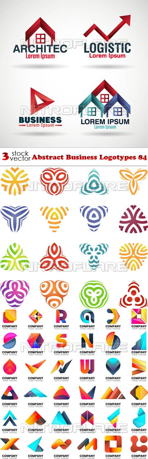 Vectors - Abstract Business Logotypes 84