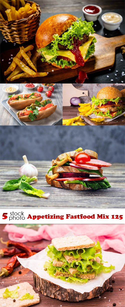 Photos - Appetizing Fastfood Mix 125