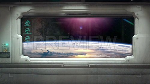 MA - Spaceship Window Pack 1 69988