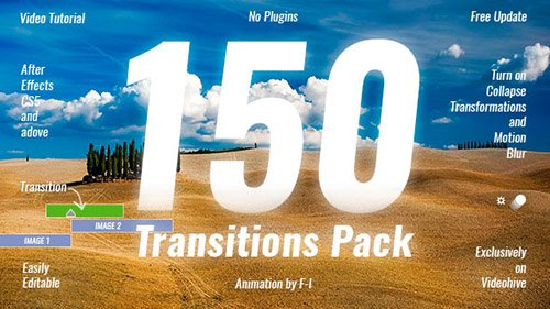 Transitions Pack 19918260 - Project for After Effects (Videohive)