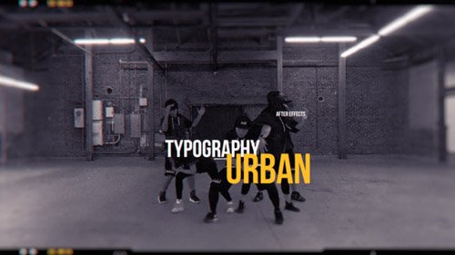 Urban Opener 21091341 - Project for After Effects (Videohive)