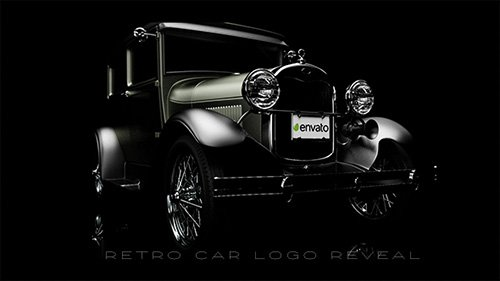 Retro Car Logo Reveal - Project for After Effects (Videohive)