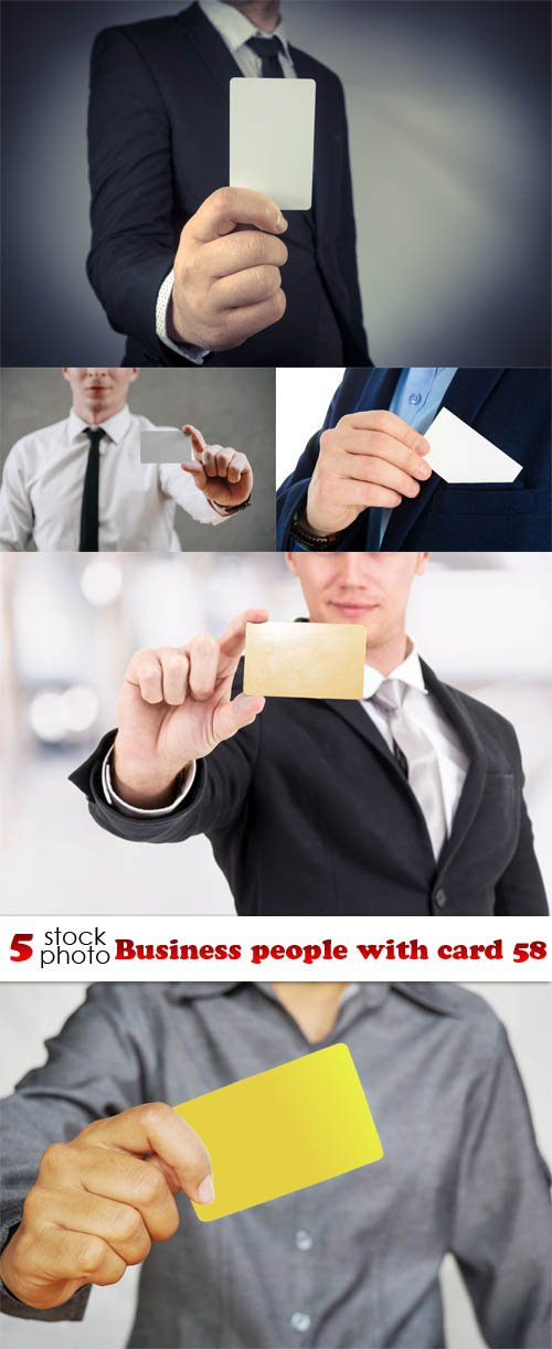 Photos - Business people with card 58
