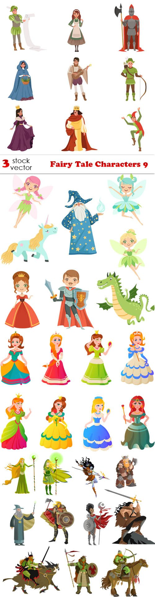 Vectors - Fairy Tale Characters 9