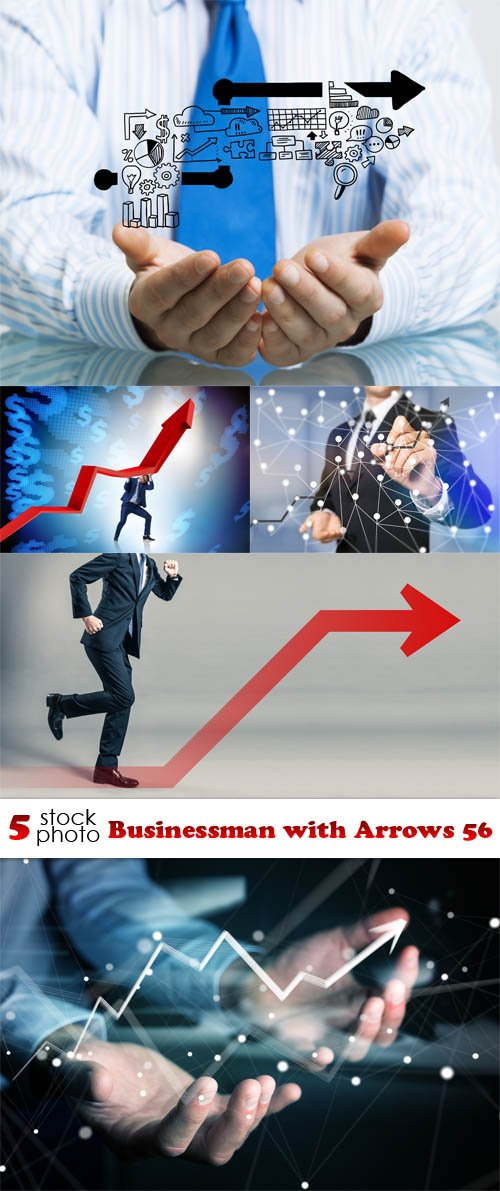 Photos - Businessman with Arrows 56