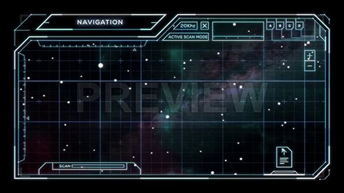 MA - Star Chart with Sci-Fi User Interface 67938