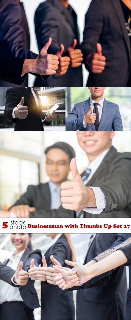 Photos - Businessman with Thumbs Up Set 17