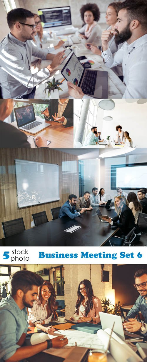 Photos - Business Meeting Set 6