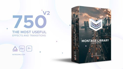 Montage Library - Most Useful Effects - Project for After Effects (Videohive)