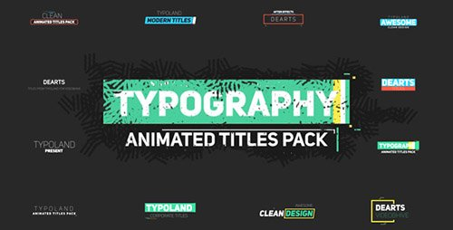 75 Typography - Project for After Effects (Videohive)