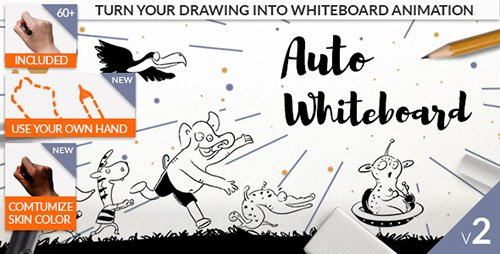 Auto Whiteboard - After Effects Scripts (Videohive)