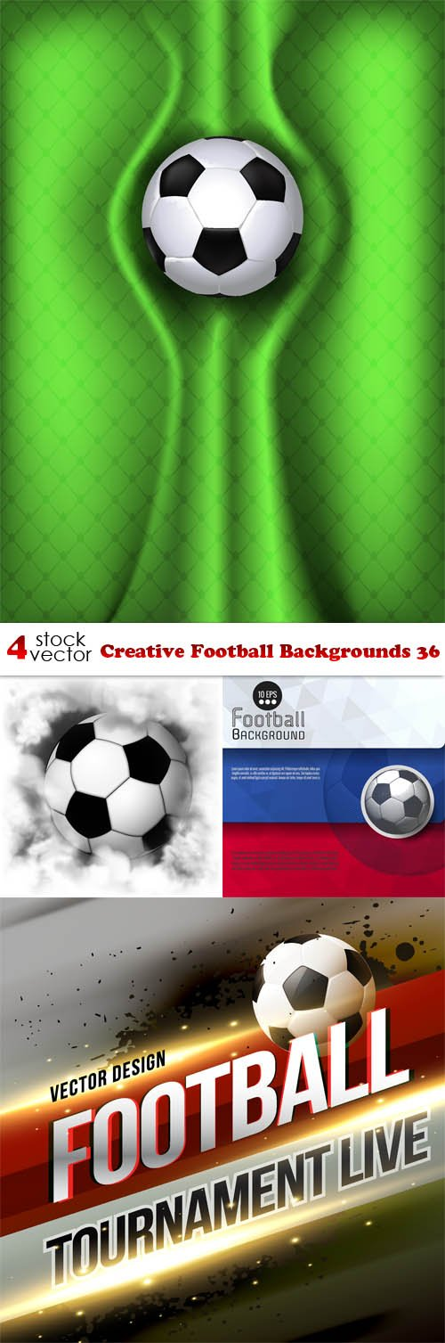 Vectors - Creative Football Backgrounds 36