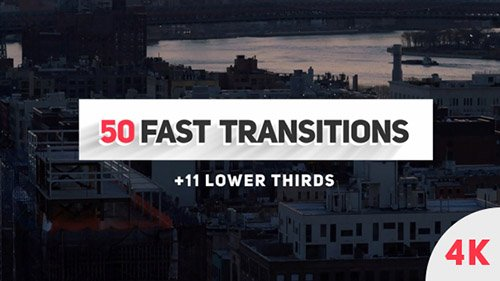 Fast Transitions - Project for After Effects (Videohive)