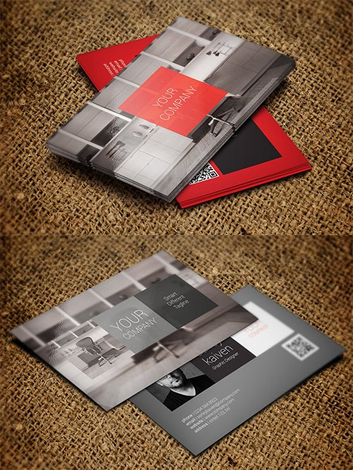 2 Modern Business Cards