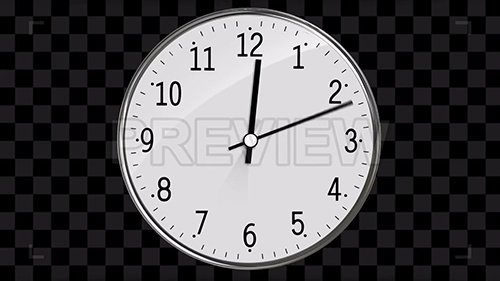 Classic Clock Passing 12 Hours 70192