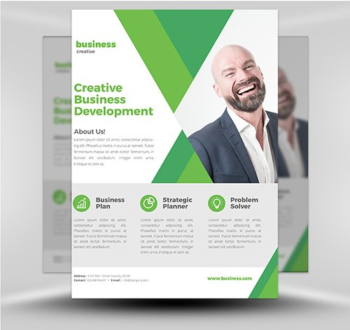 PSD - Corporate Flyer Template v3