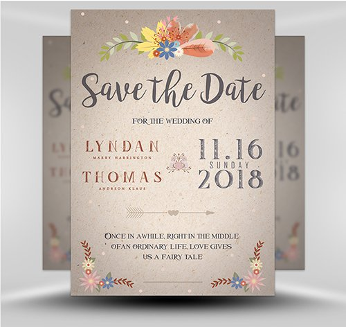 PSD - Save the Date 5