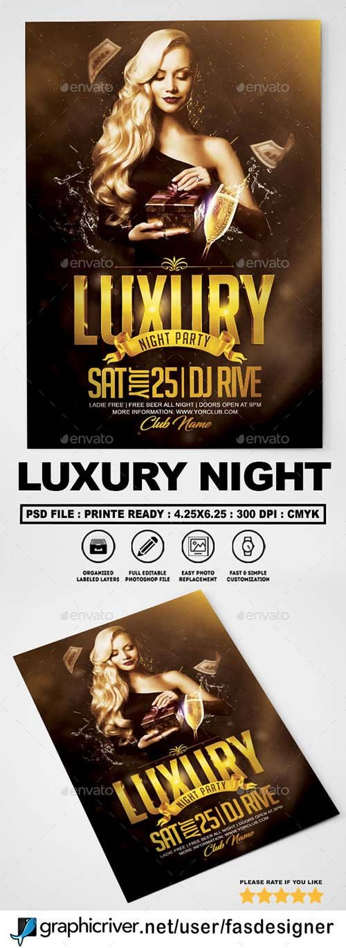 GR - Luxury Night Flyer v2 21666765