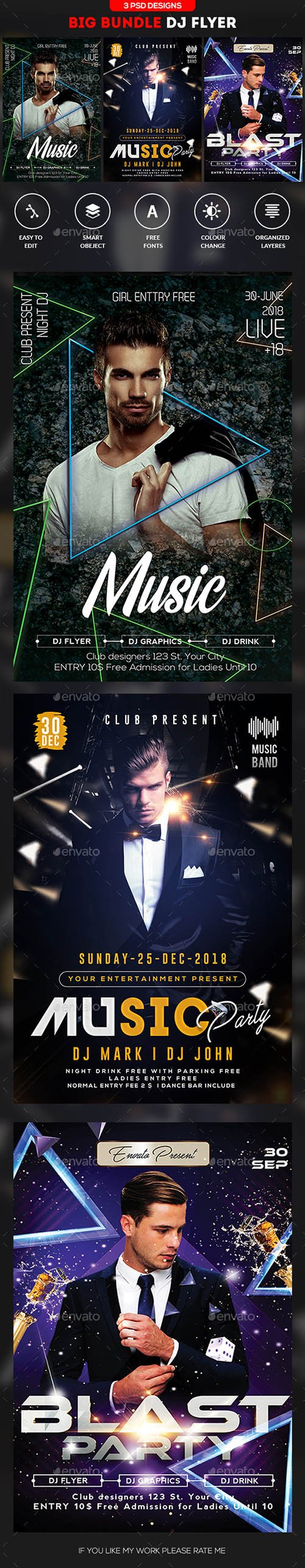 GR - Guest DJ Flyer Bundle 21666989