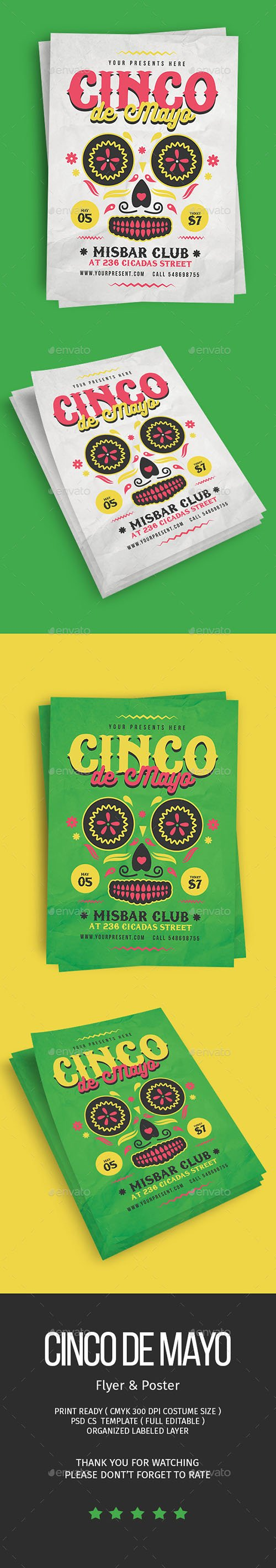 Cinco De Mayo Flyer 21670168