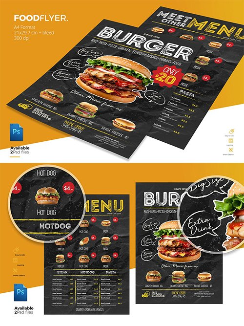 PSD Food Flyer