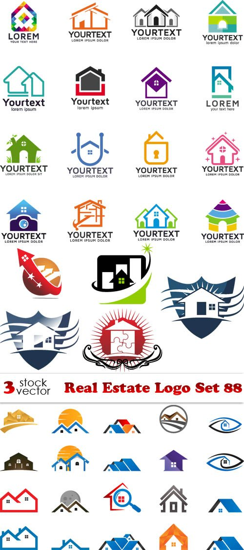 Vectors - Real Estate Logo Set 88
