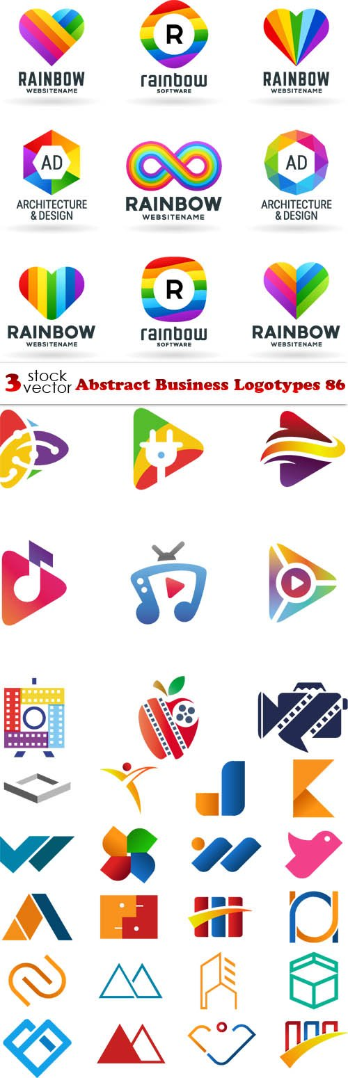 Vectors - Abstract Business Logotypes 86
