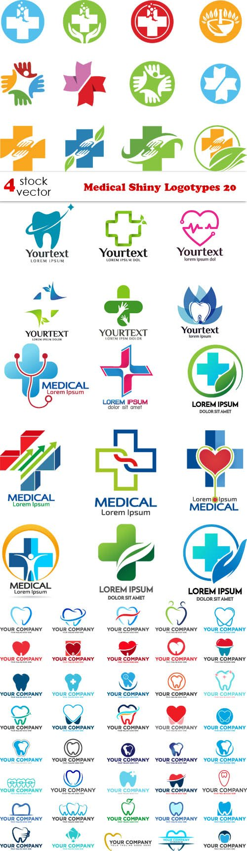 Vectors - Medical Shiny Logotypes 20
