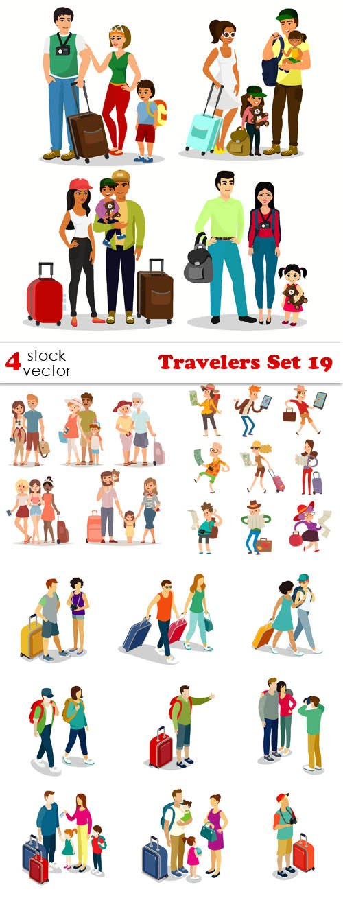 Vectors - Travelers Set 19