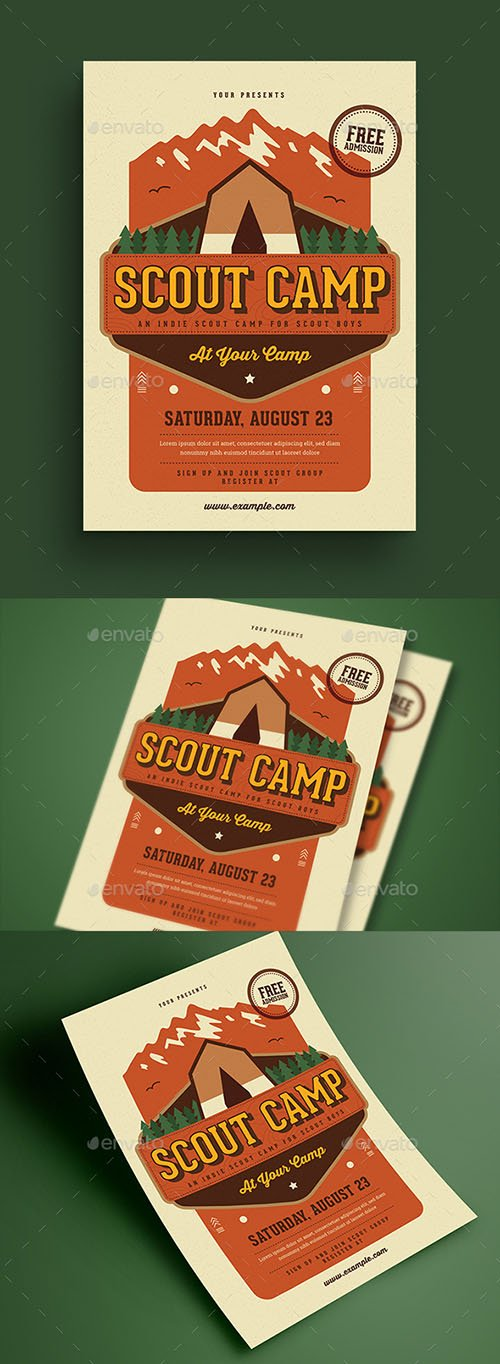 Scout Camp Flyer 21693466