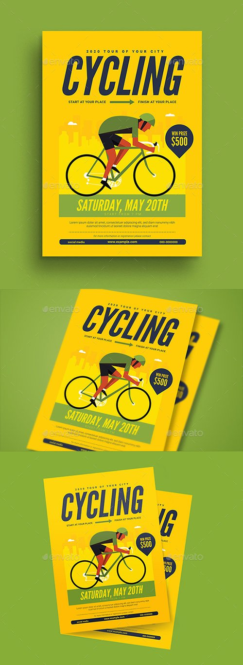 Cycling Flyer 21706830