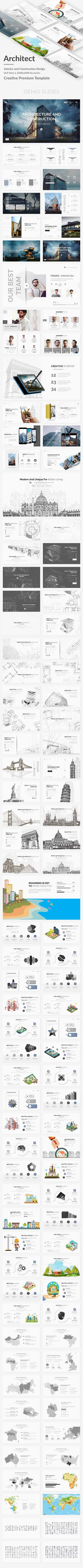 GR - Architecture Interior and Construction Design Powerpoint Template 21709818