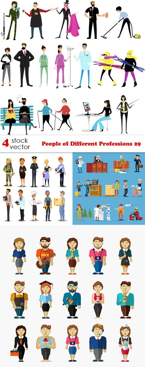 Vectors - People of Different Professions 29