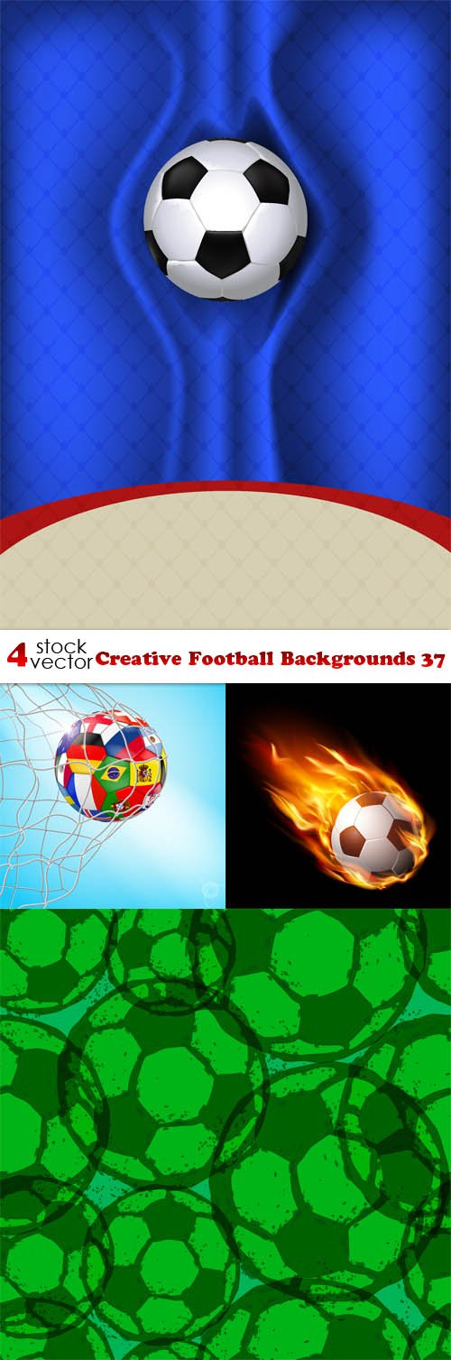 Vectors - Creative Football Backgrounds 37