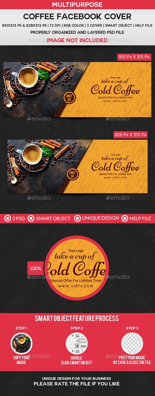 GR - Coffee Facebook Cover 21724392
