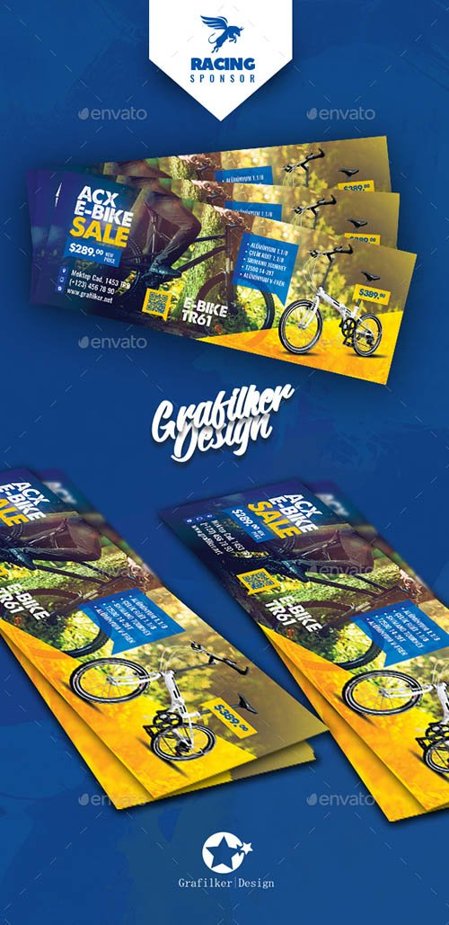 GR - Bicycle Sales F. Cover Templates 21724741