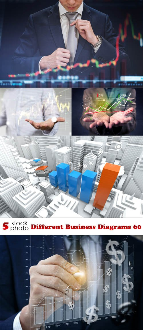 Photos - Different Business Diagrams 60