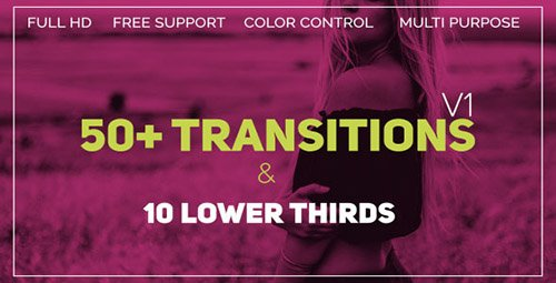 Transitions 21450502 - Project for After Effects (Videohive)