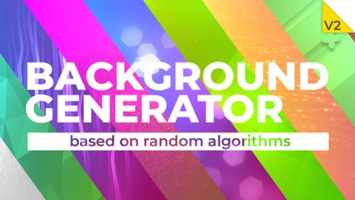 Background Generator - Project for After Effects (Videohive)