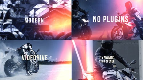 Dynamic Typo Opener 21181309 - Project for After Effects (Videohive)