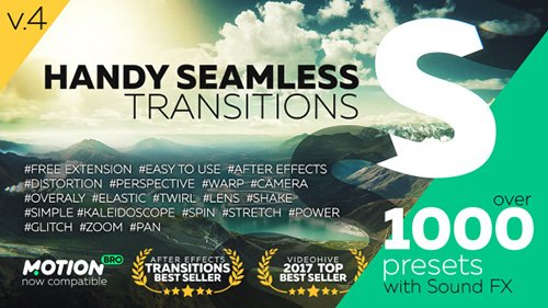 Handy Seamless Transitions 4.0.1 - After Effects Script (Videohive)