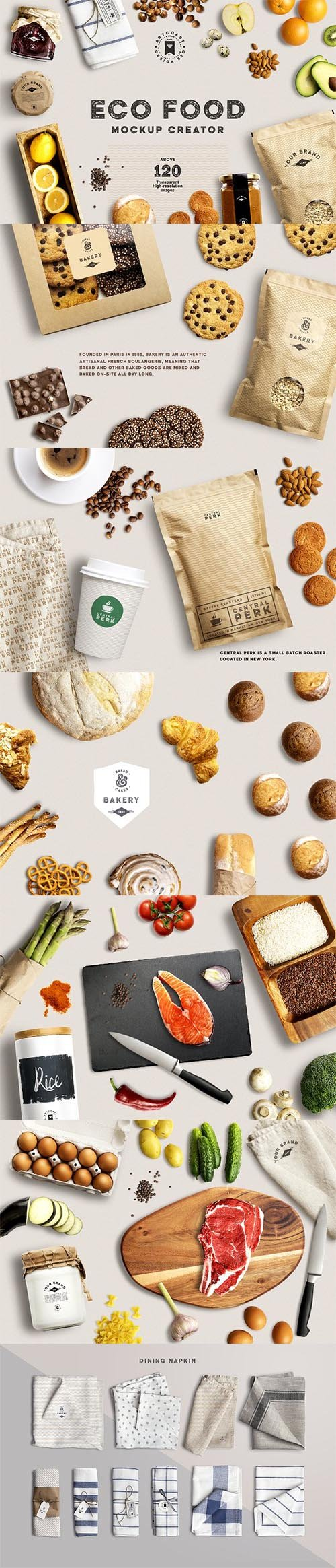 Eco Food Mockup Creator 1515954