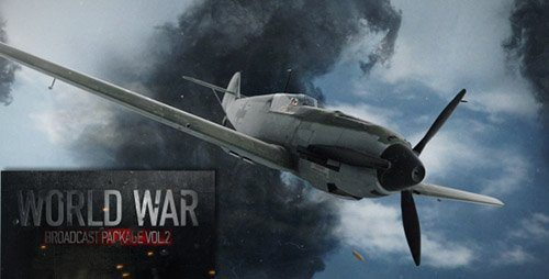 World War Broadcast Package Vol.2 - Project for After Effects (Videohive)