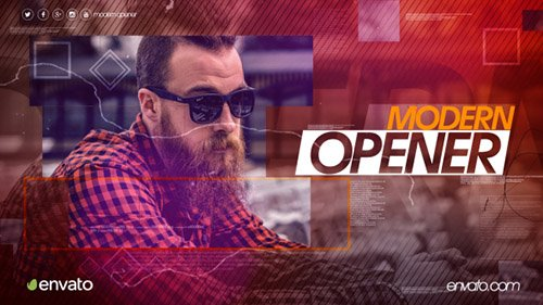 Modern Opener 15762934 - Project for After Effects (Videohive)