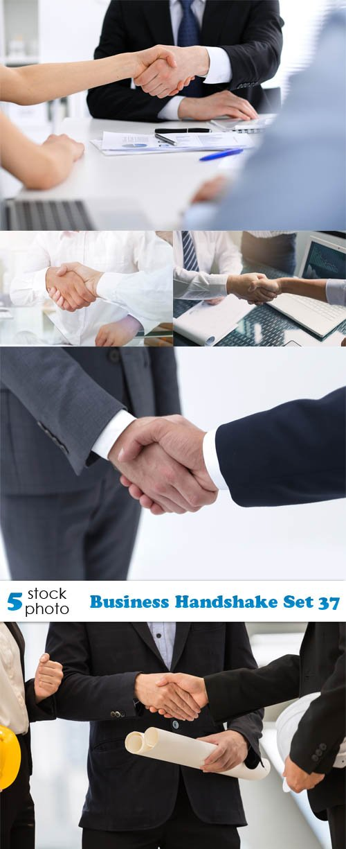 Photos - Business Handshake Set 37