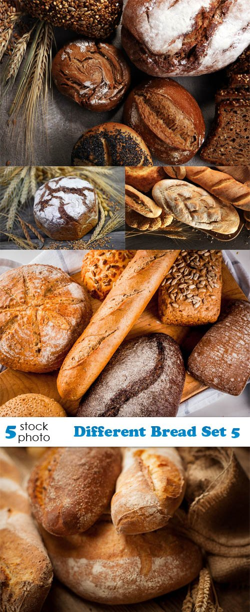 Photos - Different Bread Set 5