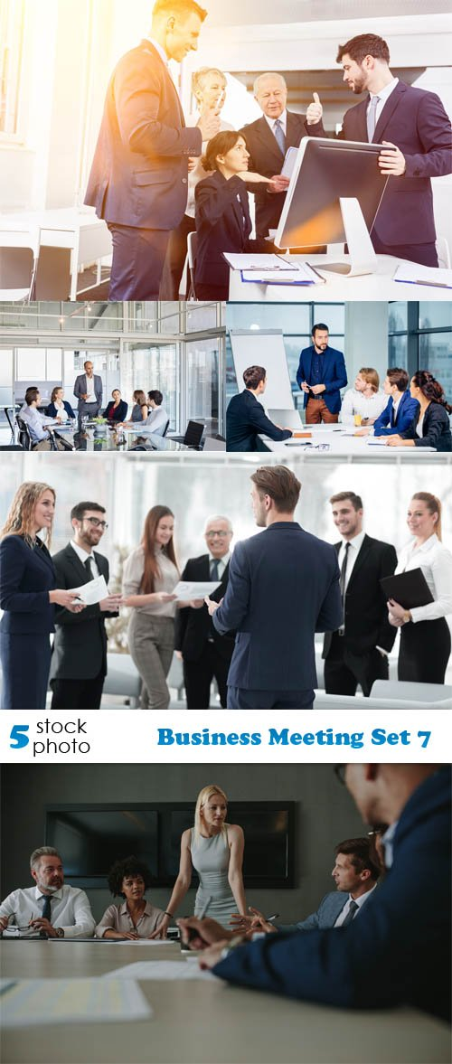 Photos - Business Meeting Set 7