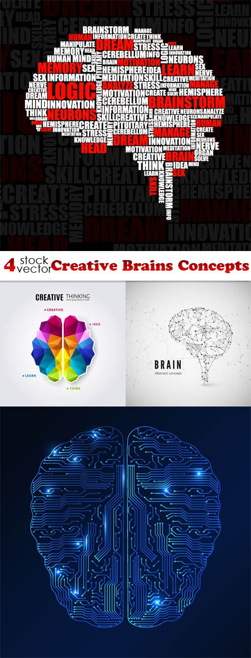 Vectors - Creative Brains Concepts