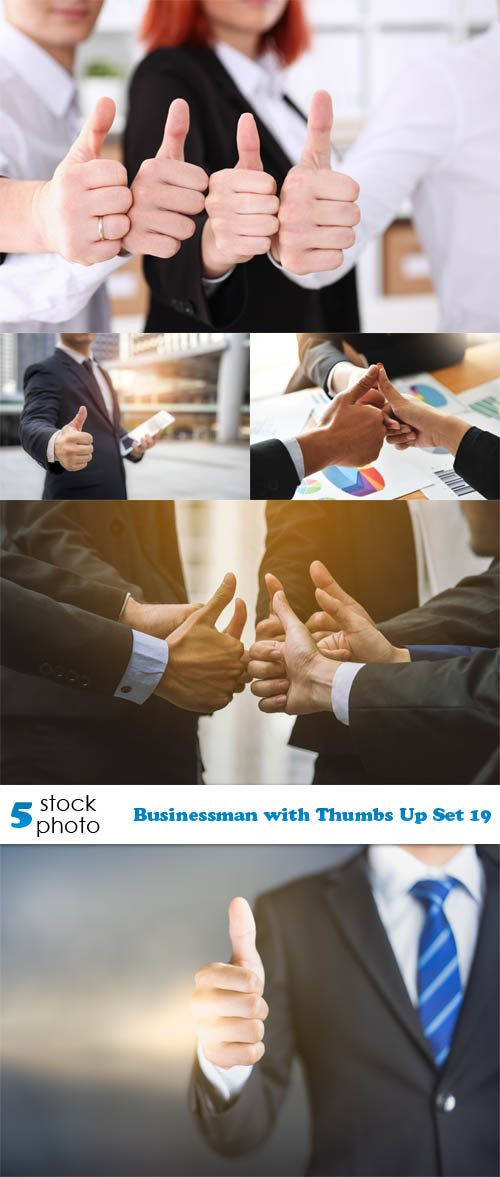 Photos - Businessman with Thumbs Up Set 19