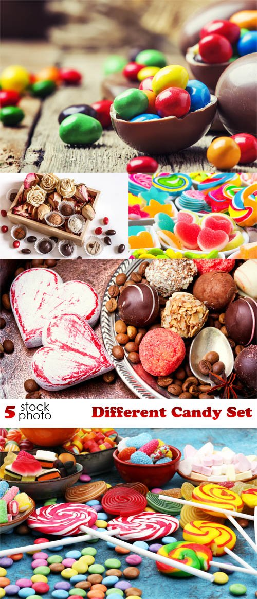 Photos - Different Candy Set